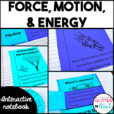 Motion, Force, and Energy Interactive Notebook