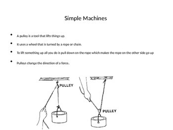 Motion, Forces, and Simple Machines Powerpoint