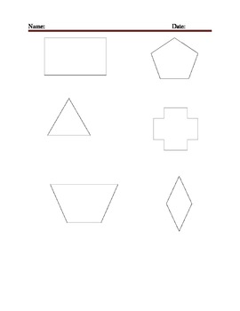 Motion Geometry End of Unit Task Grade 3!!