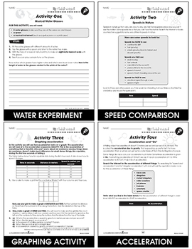 Motion Gr. 5-8 - BONUS WORKSHEETS
