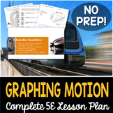 Motion Graphing Complete 5E Lesson Plan - Distance Learning