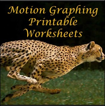 Motion Graphing Printable Worksheets