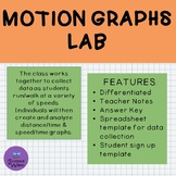 Motion Graphs Lab- Differentiated