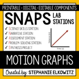 Motion Graphs Lab Stations Activity