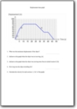 Motion Graphs PowerPoint & Worksheet