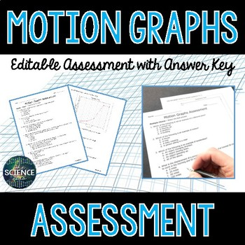 Motion Graphs - Science Assessment