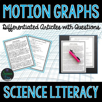 Motion Graphs - Science Literacy Article