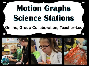 Motion Graphs Science Stations (online, group collaboratio