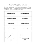 Motion Graphs Sort Cards, Student Sheet, Answer Key, Exit Ticket