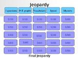 Motion Jeopardy