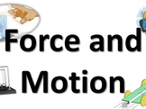 Motion Lesson Editable Word Web/How Do Objects Move?