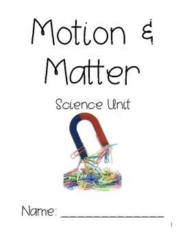 Motion & Matter FOSS Interactive Notebook