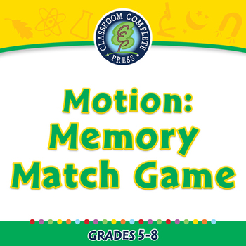 Motion: Memory Match Game - MAC Gr. 5-8