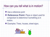 Motion Notes - complete and skeletal