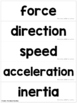 Motion Push and Pull, Fast and Slow - Summarize New Inform