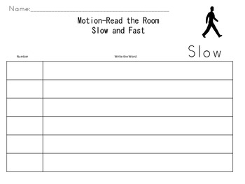 Motion-Read the Room-Fast and Slow