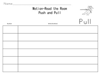 Motion-Read the Room-Push and Pull