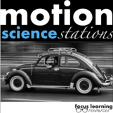 Motion Science Stations {Interactive & Fun!} Forces, Speed, Velocity...