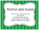 Motion & Sound Packet