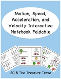 Motion, Speed, Velocity, and Acceleration Interactive Note