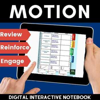 Motion (Speed, acceleration, Graphs) Digital Flip Book