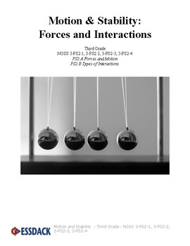 Motion & Stability: Forces and Interactions- Third Grade