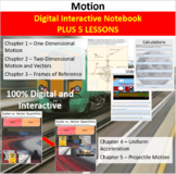 Motion Unit - Digital Interactive Notebook + 5 Lessons