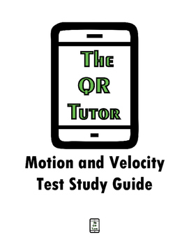 Motion, Velocity, and Acceleration Study Guide
