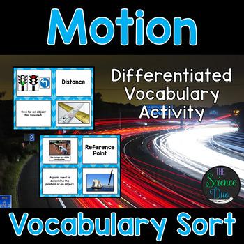 Motion Vocabulary Sort