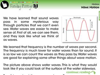 Motion: Wave Motion - MAC Gr. 5-8