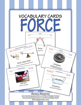 Motion Word Cards