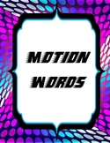 Motion Word Wall