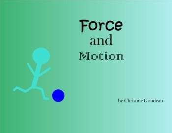 Force & Motion SMARTboard Unit - VA SOLs
