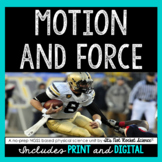 Motion and Force Unit - Distance Learning Compatible