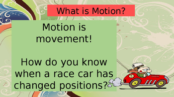 Motion and Position Powerpoint