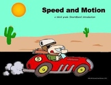 Motion and Speed - A Third Grade SmartBoard Introduction