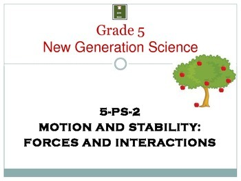 Motion and Stability: Forces and Interactions/ NGSS Gr. 5  PS2