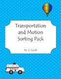 Motion and Transportation Sorting Pack