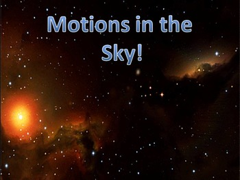 Revolution and Rotation:Motion in the Sky (totally animated)