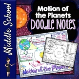Motion of the Planets Doodle Notes | Science Doodle Notes