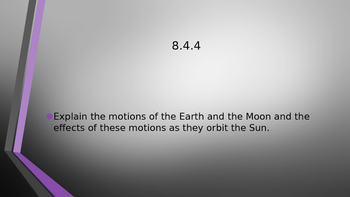 Motions of Moon and Earth