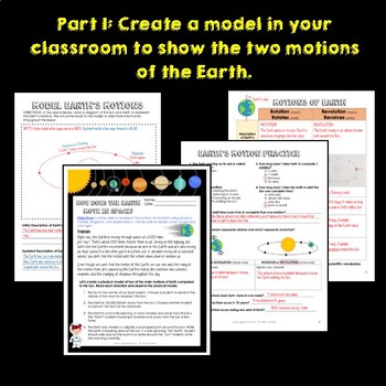 Motions of the Earth: Rotation and Revolution