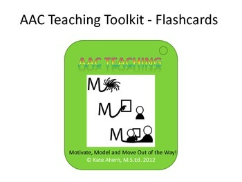 Motivate, Model, Move Out of the Way: How to implement AAC