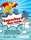 Motivate Your Student to Read & Write with a Superhero Unit Study!