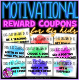 Rewards Coupons for big kids (that are free treats!)