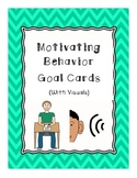 Motivating Behavior Goal Cards