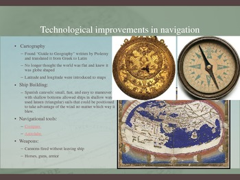 Motivating Factors of European Exploration PowerPoint Minilesson