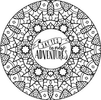 Motivating and Inspirational Word Art Quotes Mandalas ...