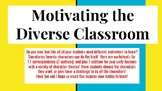 Motivating the Diverse Learning - Early Education Number Sense
