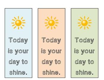 Motivation Bookmarks